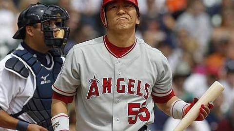 Dud: Hideki Matsui, OF/DH, Angels