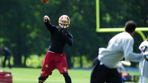Robert Griffin III, Redskins