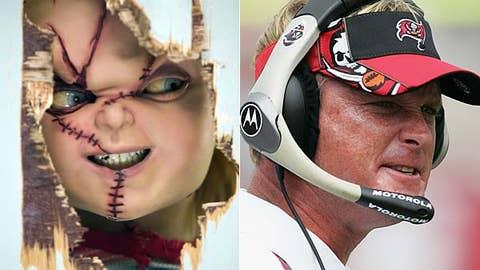 Chucky and Jon Gruden