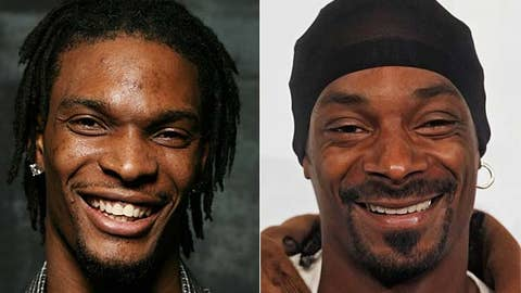 Chris Bosh and Snoop Dogg