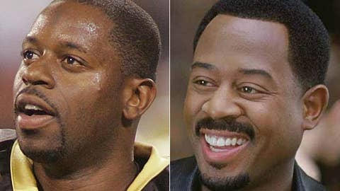 Aaron Brooks and Martin Lawrence