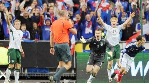 World Cup qualifier: France vs. Ireland