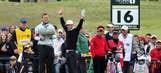 British Open Round 1 photos