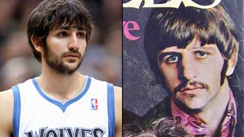 Ricky Rubio and Ringo Starr