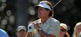 Flip flopper: Mickelson at it again with the wedge