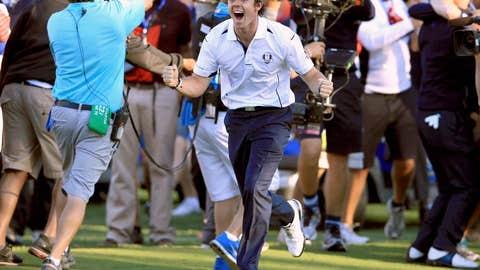I am winner, hear me Rory!