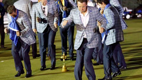 Ryder Cup Shuffle?