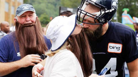 The family that grows beards together ...