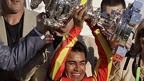 Trophy jockey