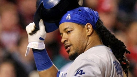 Outfielder Manny Ramirez, Dodgers (turns 38 on May 30)