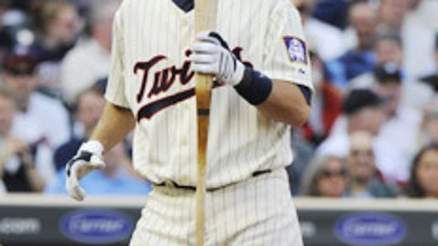Slowing down: Joe Mauer and Justin Morneau, Twins