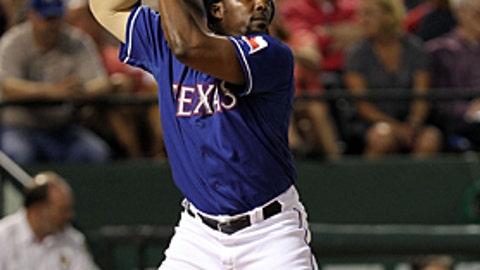 Speeding up: Vladimir Guerrero, Rangers