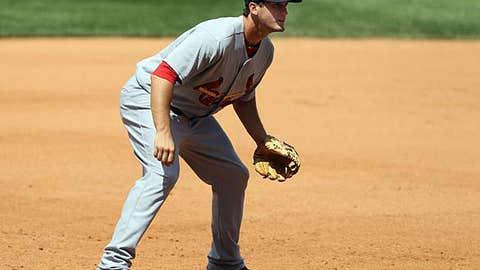Speeding up: David Freese, Cardinals