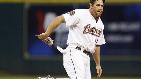 Slowing down: Lance Berkman, Astros
