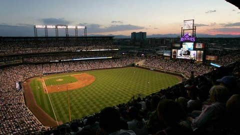 Coors Field, home to the Colorado Rockies