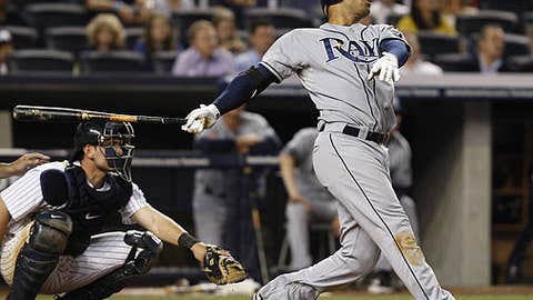 If the Rays keep hitting like they did in New York, watch out.