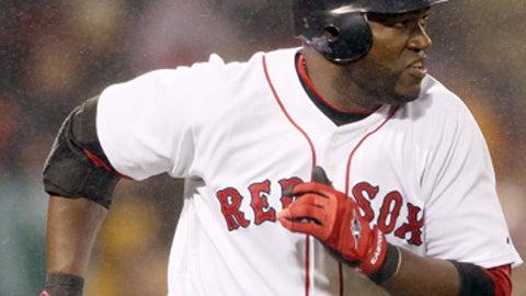 Speeding up: David Ortiz, Red Sox