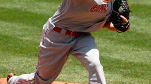 Mike Leake, Reds