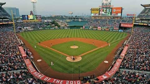 Angel Stadium, Anaheim, Calif.