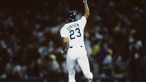 Kirk Gibson — Game 1, 1988 World Series
