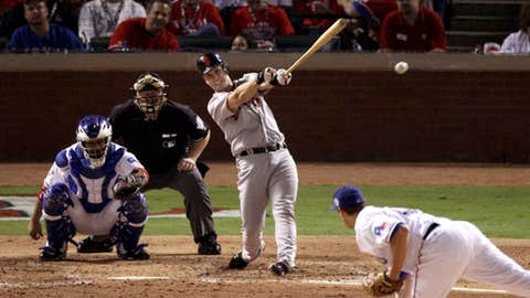 Buster rocks one into left
