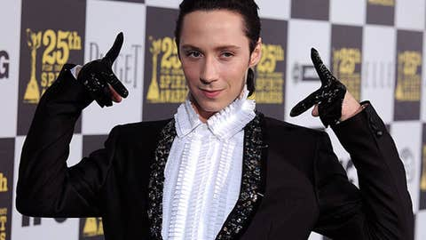 "Johnny Weir, ""Skating With the Stars,"" ""Celebrity Cook-off"""