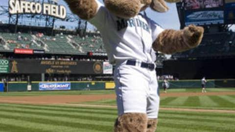 The Mariner Moose, Seattle Mariners