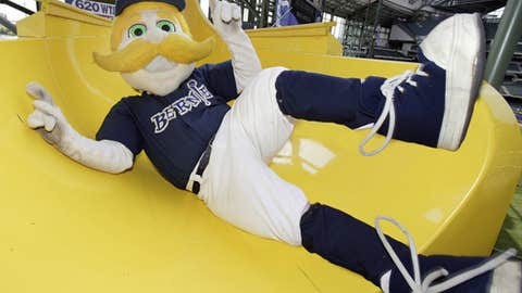 Bernie Brewer, Milwaukee Brewers
