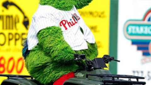 Phillie Phanatic, Philadelphia Phillies