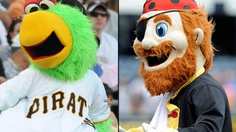 Pirate Parrot and Captain Jolly Roger, Pittsburgh Pirates