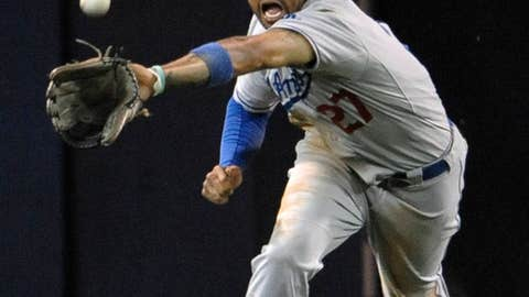 NL center fielder: Matt Kemp, Los Angeles Dodgers