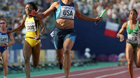 Marion Jones — Not quite in 'the clear'