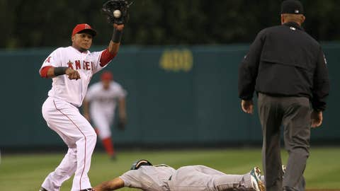 AL shortstop: Erick Aybar, Los Angeles Angels