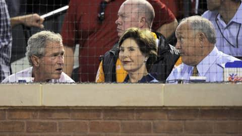 President George W. Bush & Laura Bush