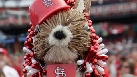 St. Louis Cardinals rally squirrel