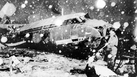 Manchester United plane crash