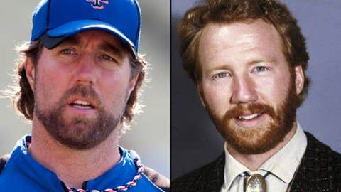 R.A. Dickey and Timothy Busfield