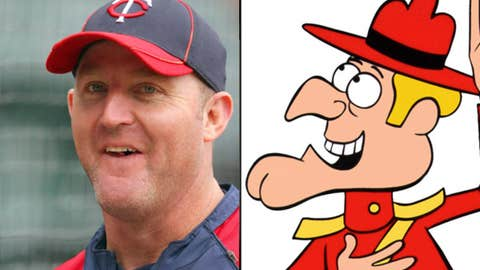 Jim Thome and Dudley Do-Right