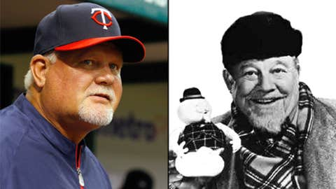 Ron Gardenhire and Burl Ives