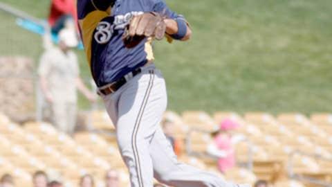 Brewers' new shortstop