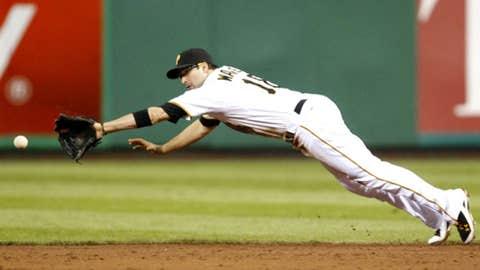 Walker dives