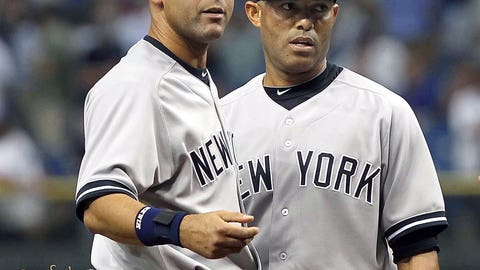 Mariano Rivera and Derek Jeter return from their injuries