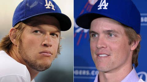 Clayton Kershaw and Zack Greinke take on the defending champs