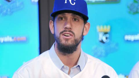 James Shields starts Opening Day for the Royals