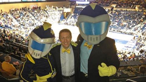 Ken and University of Toledo mascots