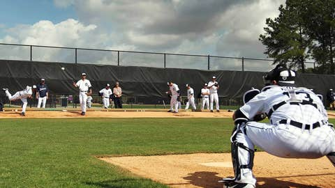 Pitchers and catchers