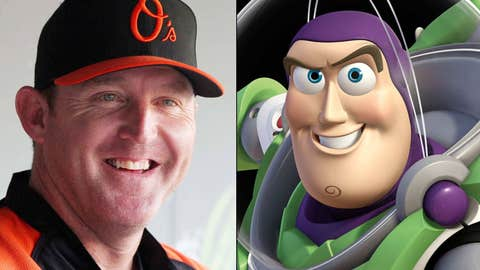 Jim Thome and Buzz Lightyear