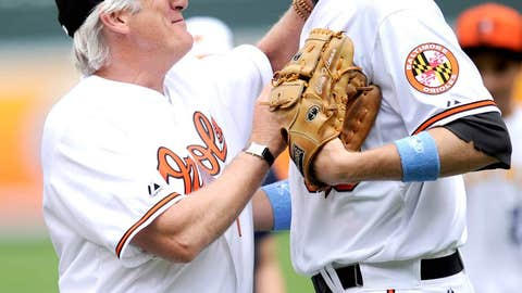 An Officer and an Oriole