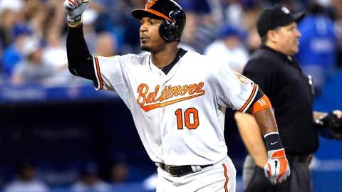 AL OF: Adam Jones, Orioles