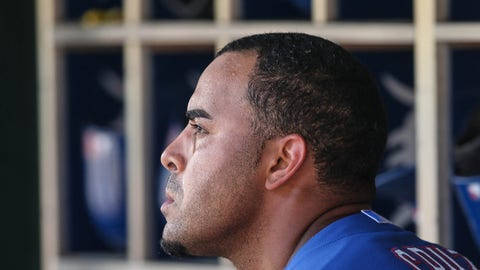 Nelson Cruz, Rangers OF